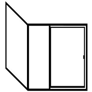Picture of Fits Opening: Width (in) 66/Height (in) 76 - FDI90-FDI9048X76