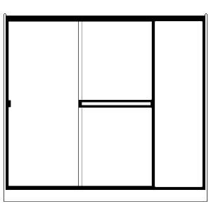 Picture of Fits Opening: Width (in) 48 X 12/Height (in) 70 3/8 - SE-I-SEI60X703