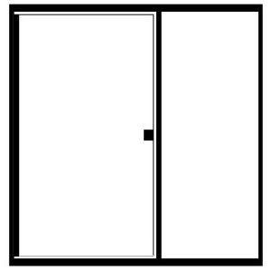 Picture of Fits Opening: Width (in) 48/Height (in) 74 1/4 - RDI-RI48X74