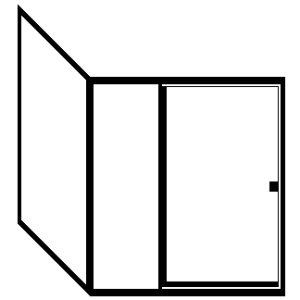 Picture of Up to 48 X 48 X 71 1/4. Parts Included: R36X##, I9048## - RD-RI90487114